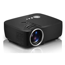 GP70 3D Mini Projector 1200 Lumens Support 1920x1080P Analog TV LED Projector 5PCS/lot(China (Mainland))