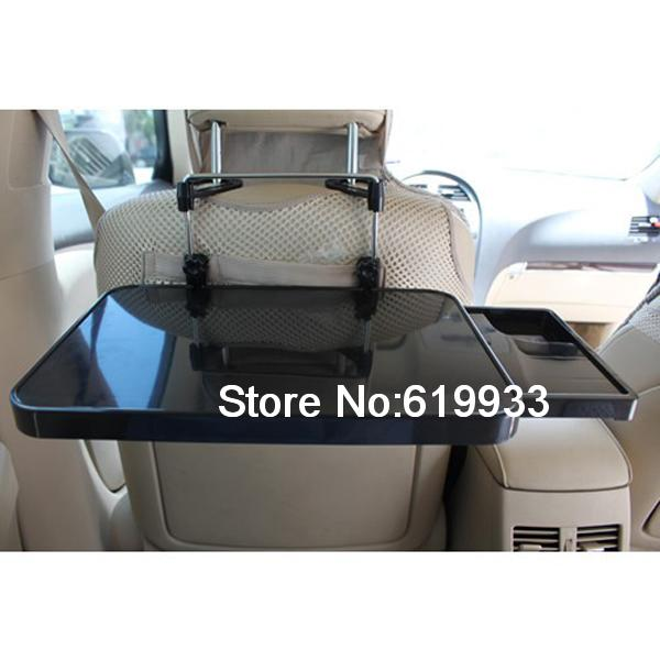NEW 2ND Mobile Multi Purpose Use Laptop Travel Tray Table Cup Holder Trays for Car(China (Mainland))