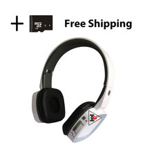 headphone not wood casque hifi sans fil audifonos super bass bluetooth earbud wireless headphone with mic TBE95N#