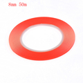 New 8mm 50m Double Side Adhesive Sticker Tape For iPhone Samsung LG Sony HTC Mobile Phone