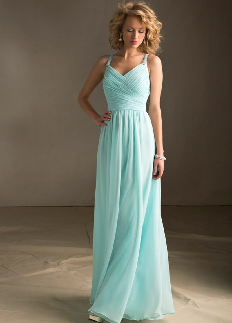 Super fashion dress ice blue bridesmaid dress for Ice blue wedding dress