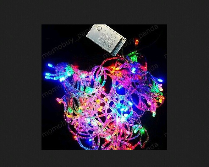 Free Shipping 328FT 100M1000 LED Multi Color Light String For Decoration Christmas Xmas party<br><br>Aliexpress