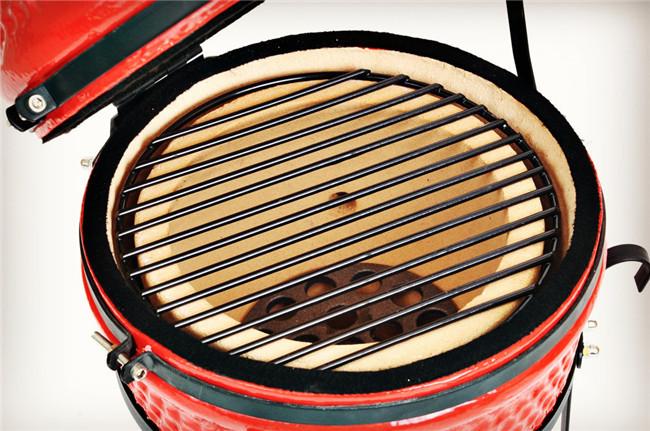 "13"" China glazed outdoor BBQ ceramic kamado grill(China (Mainland))"