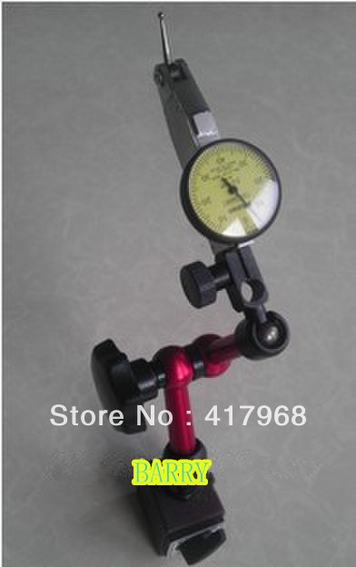 Precision Dial Test Indicator 0 8 0 01mm Universal magnetic stand Magnetic base Quaranteed 100
