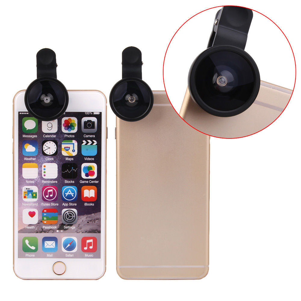 Universal 0.4X Removeable Super Wide Angle Conversion Selfie Cam Lens for iPhone Android Phone(China (Mainland))