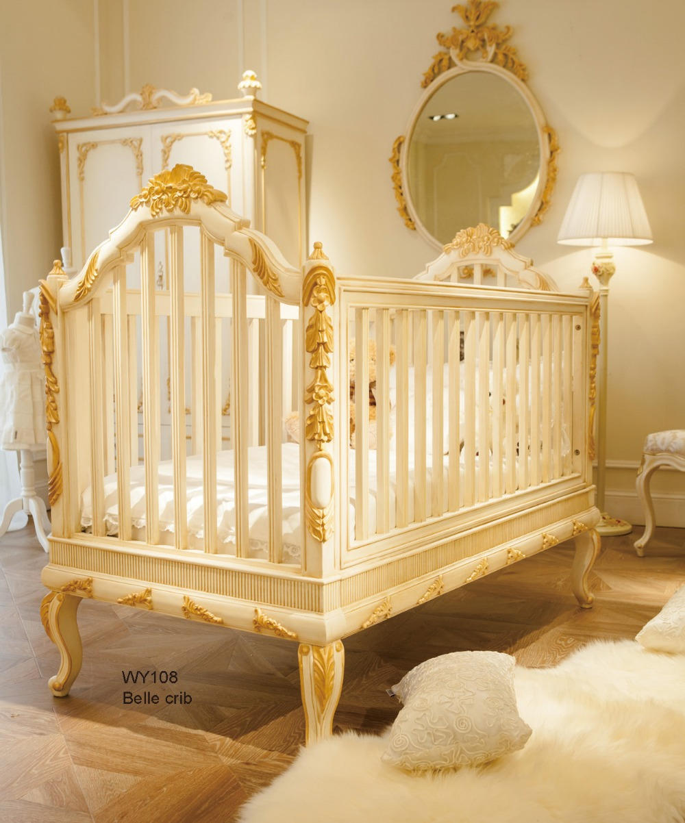 Popular luxury baby cribs buy cheap luxury baby cribs lots for Baby furniture