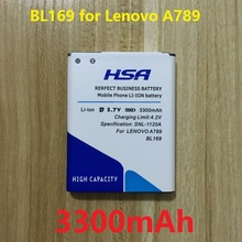 NEWEST 3300mAh BL169 Mobile Phone Battery Use for lenovo A789 P70 P800 S560 etc(China (Mainland))
