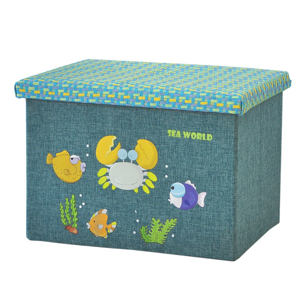 Canvas Clothing Storage Box World Canvas Storage Box