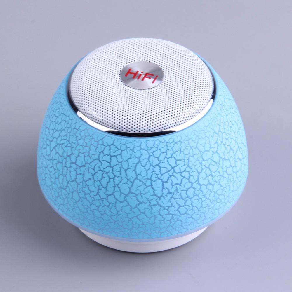 New Portable Crack Color Speaker Wireless Mini TF Card Stereo Hands-free Bluetooth Speaker LED Night Lighting Loudspeaker(China (Mainland))