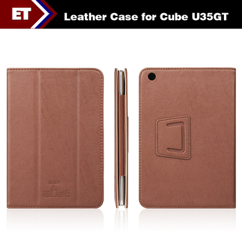 Oirginal Leather Case for Cube U35GT U35GT2 Mini Pad 7.9 inch cover high quality Free Shipping
