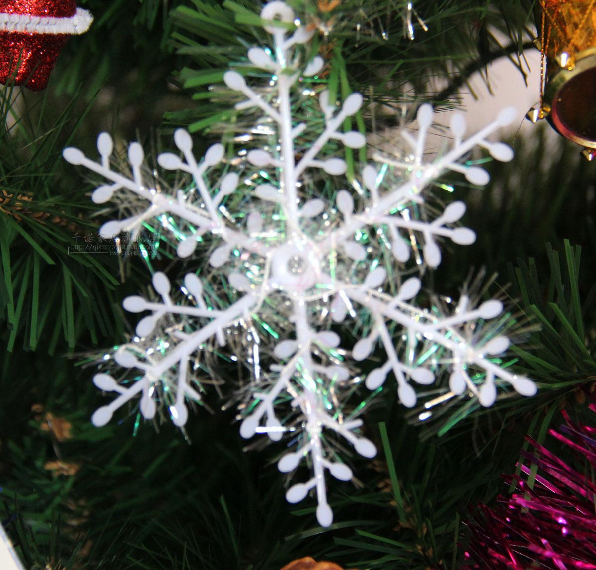 Christmas decoration christmas tree hangings christmas wreath 30cm color wire christmas 3 bag(China (Mainland))