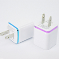 3.1A Triple USB Port Wall Home Travel AC Charger Adapter With Micro usb Cable For Samsung Android mobile phone charger