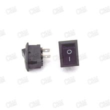 New 5Pcs/lot 2 Pin Snap-in Connectors On/Off Car Boat Rocker Switch 12V 110V 250V KCD1-101 Black(China (Mainland))
