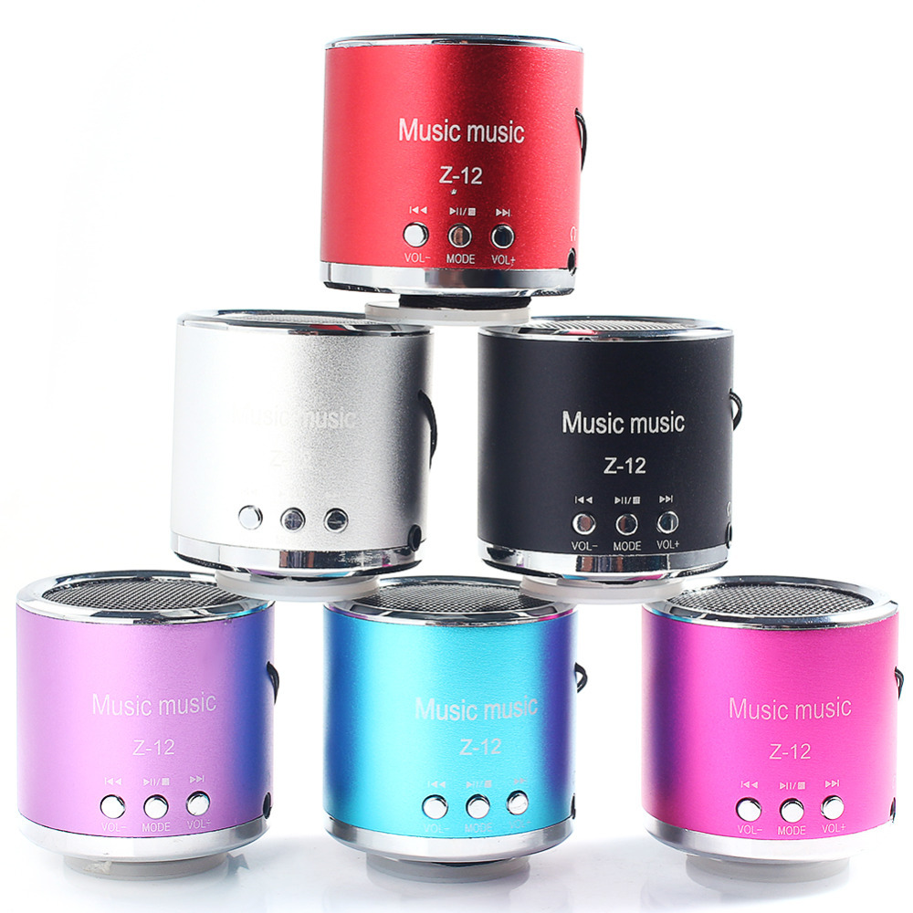 Wireless Speaker Amplifier FM Radio USB Micro SD TF Portable Mini Speakers MP3 MP4 Computer Card Music Player - Welcome, Sweet Home store