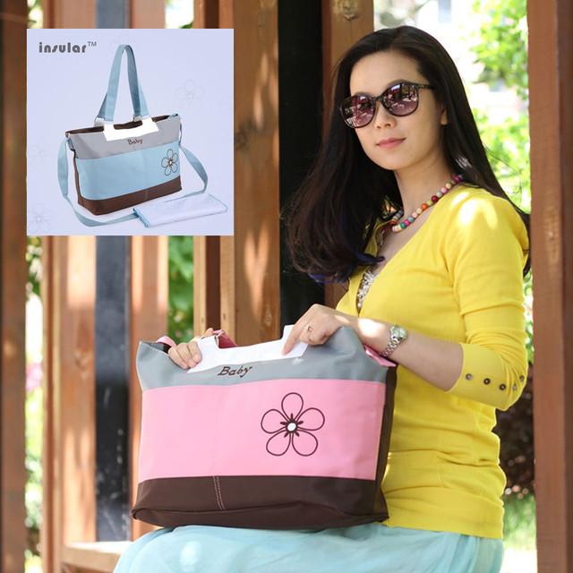 Островной пеленки младенца сумки для мамы многофункциональный Мумия подгузник сумка ...