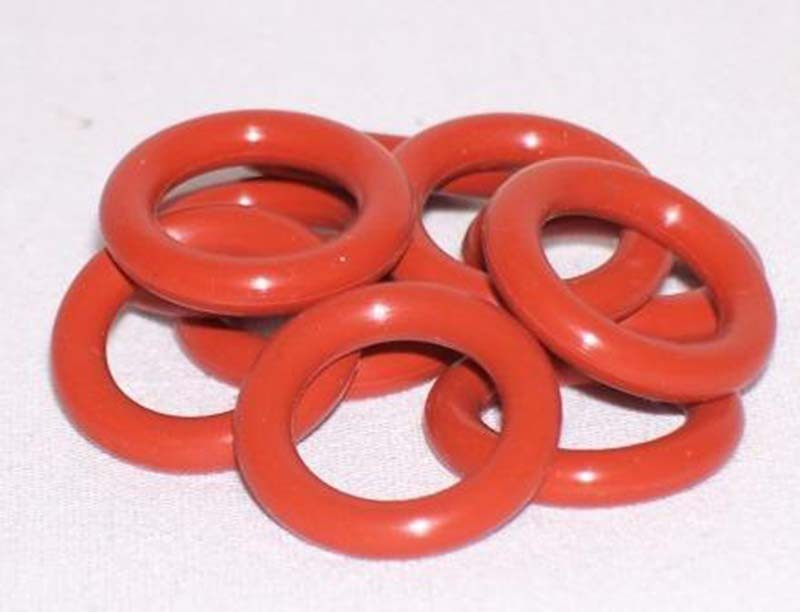 100piece/Size:7mm*3mm*2mm/Silicone o ring seal dichtung Red Gasket of motorcycle part/consumer product VMQ O-ring