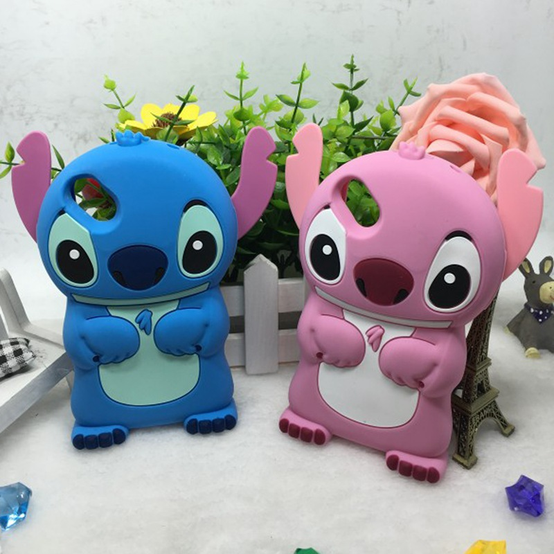3D Cartoon Stitch Case Wiko Rainbow Jam Lenny II BLoom Sunset 2 Pulp Fab 4G Cute Soft Silicone Phone Cover  -  Beijing beyond Technology Co. Ltd. store