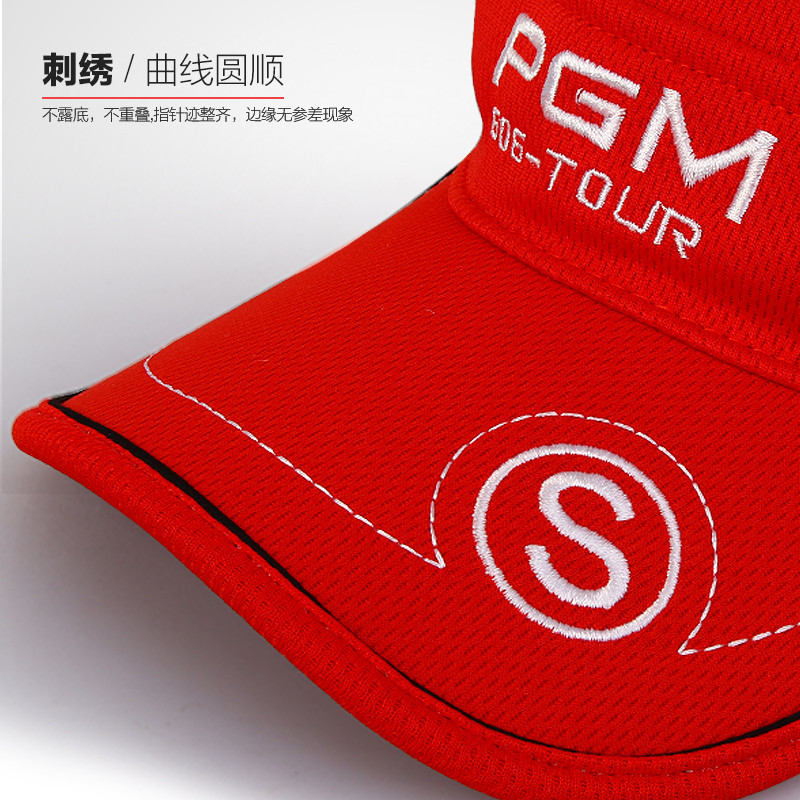 PGM authentic golf hat unisex models female models without sunscreen breathable baseball hat golf caps