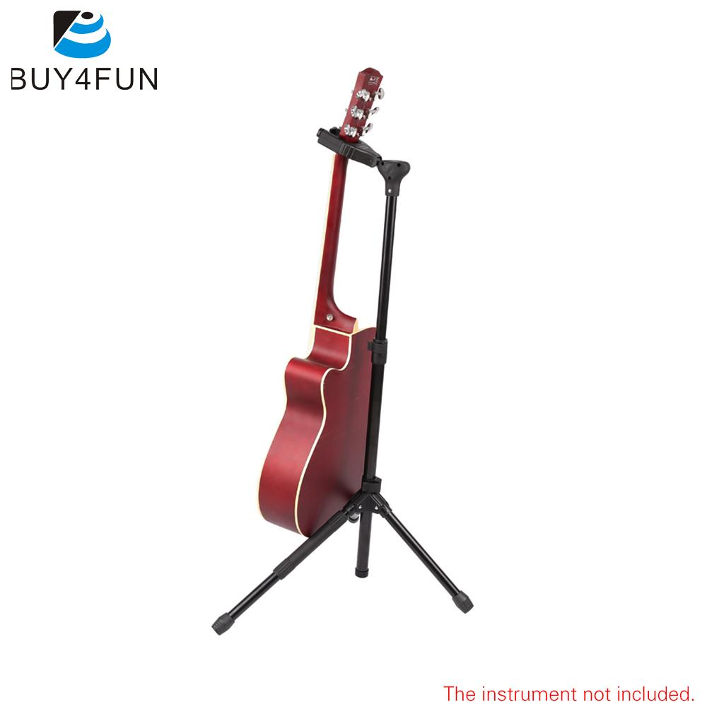 Upright Adjustable Tripod Musical Instrument Stand Holder for Guitar with Lock Leg & Self-closing Auto Security Gate(China (Mainland))