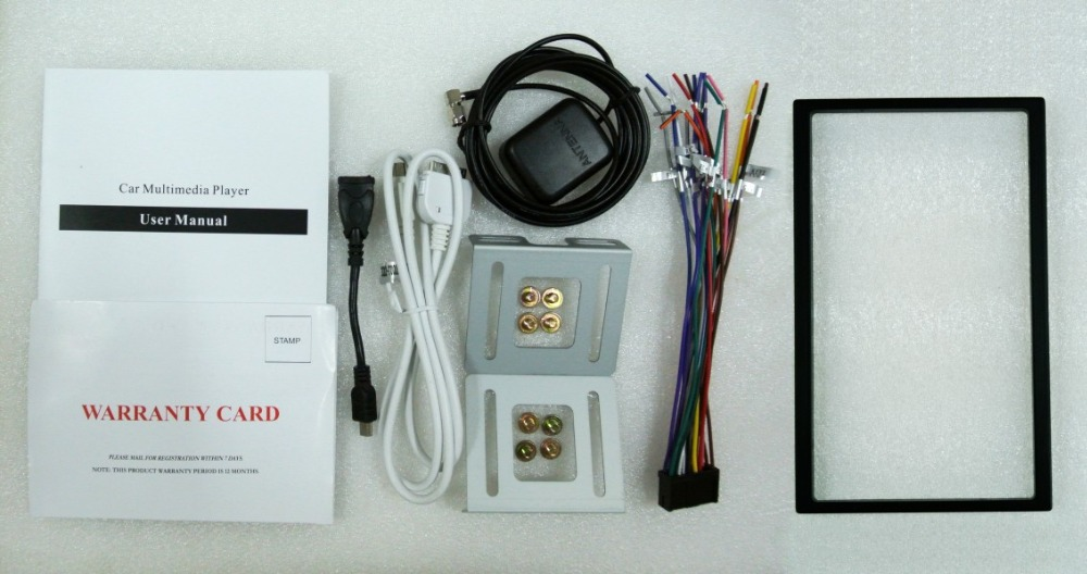 Car DVD GPS Navigation 2DIN Car Stereo Radio Car GPS Bluetooth USB SD Universal Interchangeable Player