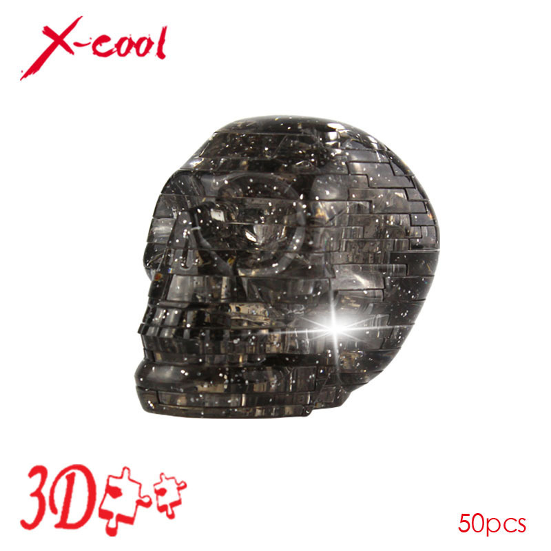 Crystal Skull Puzzle Xc9056a 3d Crystal Puzzle