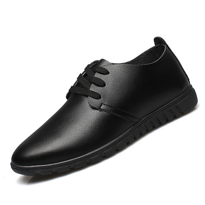 Man flat shoes hot sale Spring and autumn 2015 mens business casual mens leather shoes large size  comfortable shoes 46-47<br><br>Aliexpress