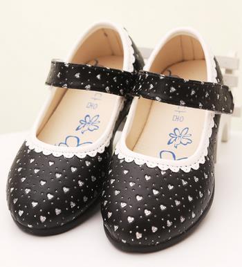 Children's autumn shoes girls princess baby single fashion kids leisure party bow dress shoes 308b(China (Mainland))