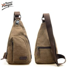 Fashion Men Messenger Bags Casual Outdoor Travel Hiking Sport Casual Chest Canvas Male Small Retro Military Shoulder Bag XP999