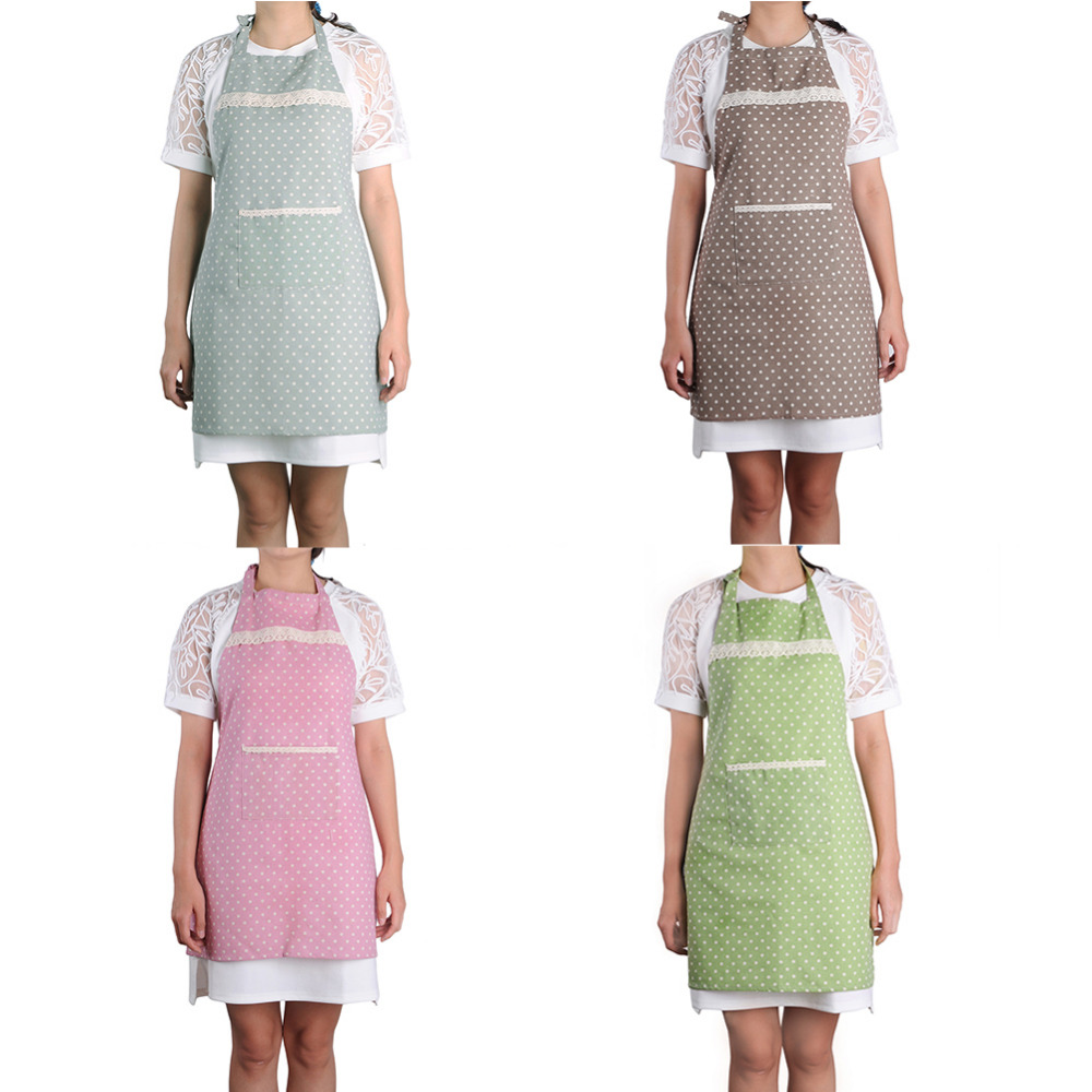 Cotton Fabric Aprons Home Leisure Catering Sleeveless Kitchen Cooking Cleaning Sanitary Coffee Shop Apron Kitchen Accessories(China (Mainland))