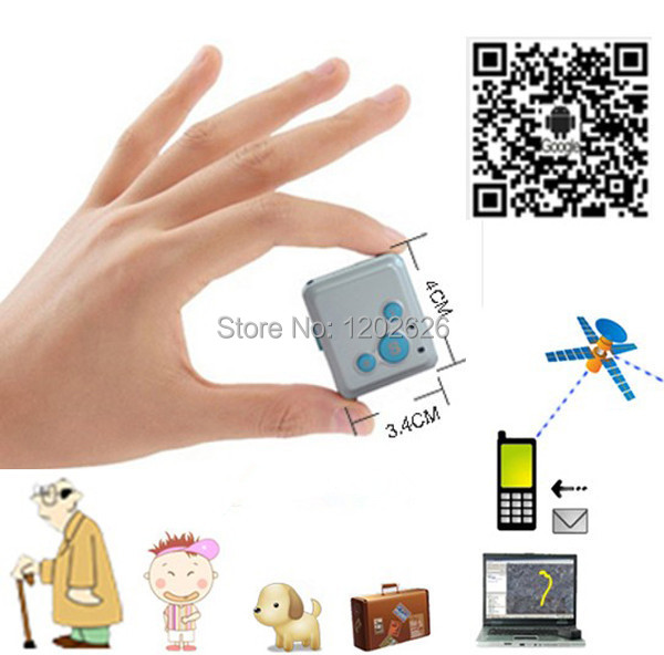 Free shipping!Mini GPS Tracker GSM GPRS Call for Kids(China (Mainland))