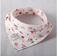 26*31cm Baberos lindos de algodón baberos Bandana suave triángulo toalla alimentación bebé recién nacido Burp paños de dibujos animados bebé las cosas de muchachos(China)