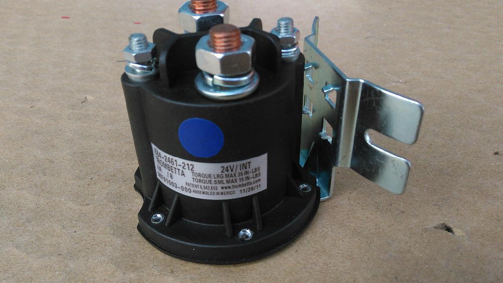 Trombetta 684 2461 212 DC 24V INT Pump Contactor Lift Contactor For Colf Cart Pallet Truck(China (Mainland))