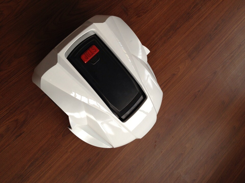 2015 newest robot lawn mower Lithium Battery Automatic Recharge robot mower lawn(China (Mainland))