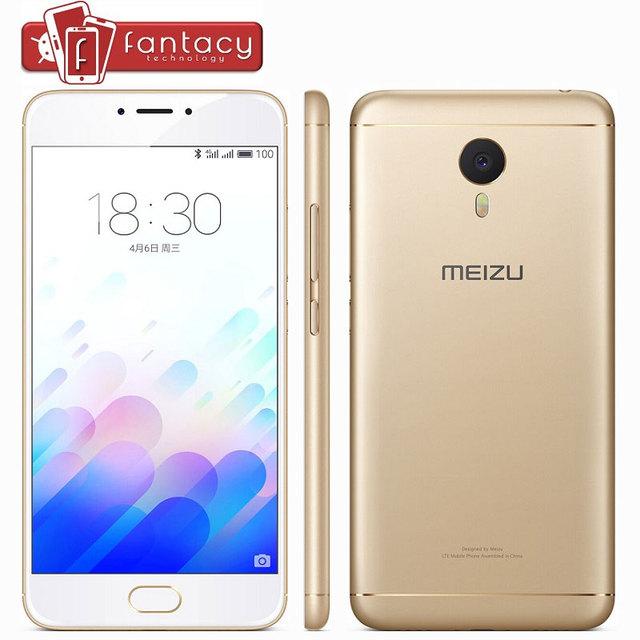 "Original Meizu M3 Note Prime 4100mAh MTK Helio P10 Metal Fingerprient ID 3G RAM 13MP LTE 4G 5.5 "" 1080P Flyme 5.1 Mobile Phones"
