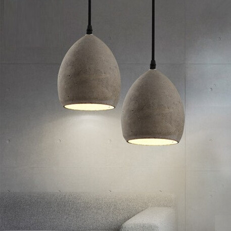 Nordic Modern Creative Cement LED Vintage Pendant Lights Fixtures For Bar Dining Room Hanging Lamp Lamparas Colgantes<br><br>Aliexpress