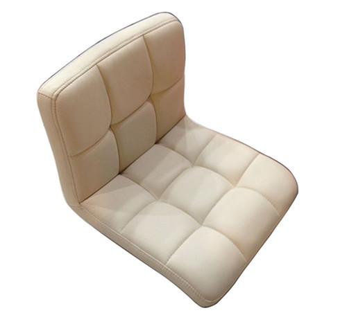 Floor Leather Chair 360 Degree Swivel Beige Sofa Living Room Furniture Japanese Meditation Backrest Legless Tatami Zaisu Chair(China (Mainland))
