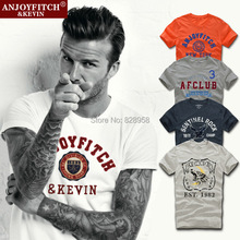 22 Color Summer AF Anjoy Fitch Men T-shirt short Sleeve 100% Cotton Sport T Shirt Plus Size Clothing High Quality Street Clothes