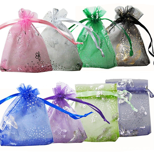 2015 New 25pcs/set Organza Jewelry Wedding Gift Pouch Bags 7x9cm 3X4 Inch Mix Color for Party Holiday New Year Use 1NR8<br><br>Aliexpress