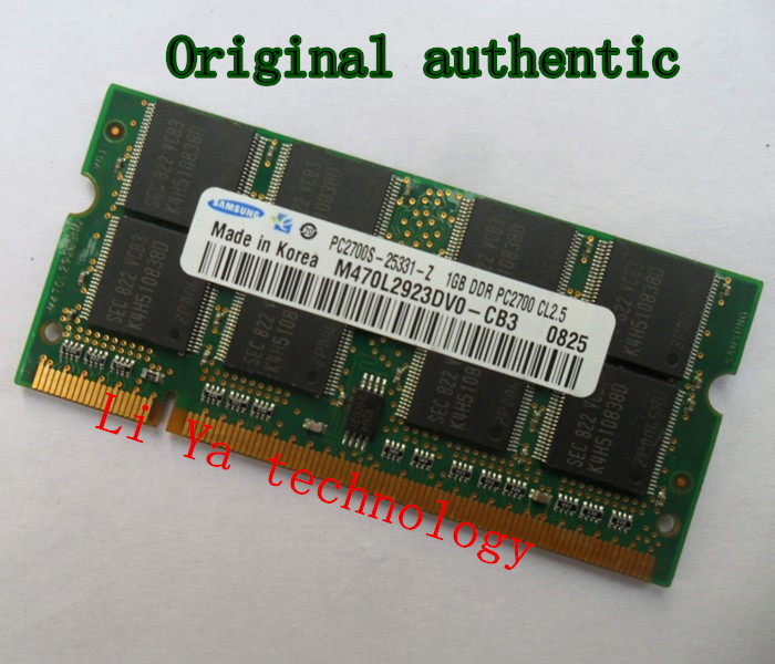 1GB 2GB PC2700 DDR333 For Samsung 200PIN SODIMM ddr 333Mhz Laptop MEMORY 200-pin SO-DIMM RAM DDR Laptop Notebook MEMORY(China (Mainland))