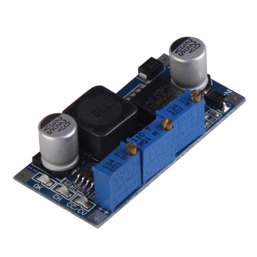 Best Selling LM2596S DC-DC Constant Current and Voltage Adjustable Module LED Driver V3NF(China (Mainland))