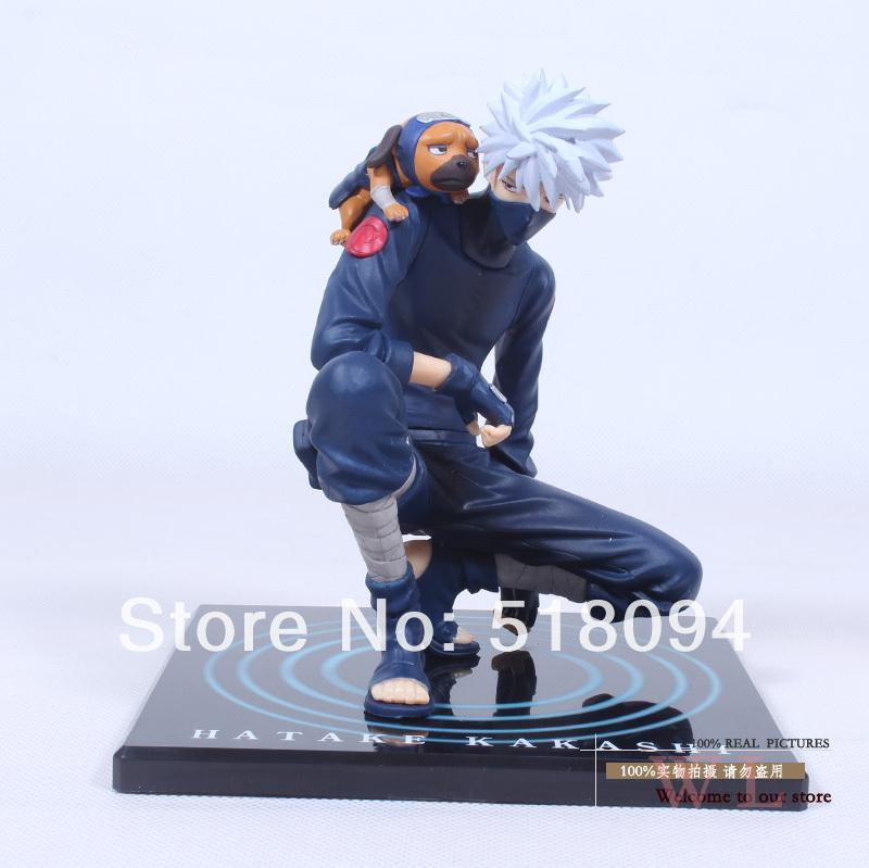 Free Shipping Anime GEM Naruto Hatake Kakashi PVC Action Figure Collection Model Toy 15CM NTFG039(China (Mainland))