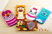 1- 3D Cartoon Silicon Case Cover For Samsung Galaxy S3 SIII i9300 Tigger Marie/Alice Cat Monsters Sulley Dog Cell Phone Cases(China (Mainland))