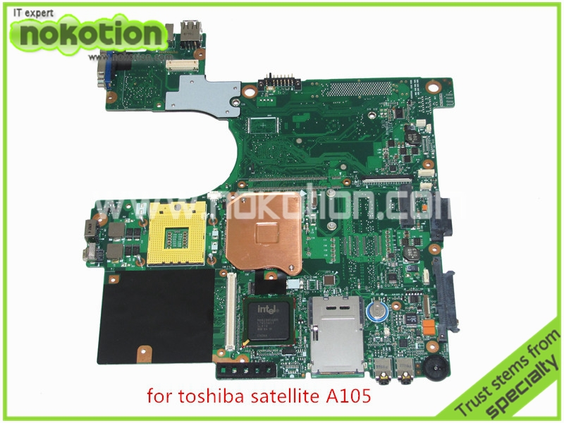 brand new motherboard for toshiba satellite A100 A105 laptop main board 945GM DDR2 without graphics slot V000068770 V000069110(China (Mainland))