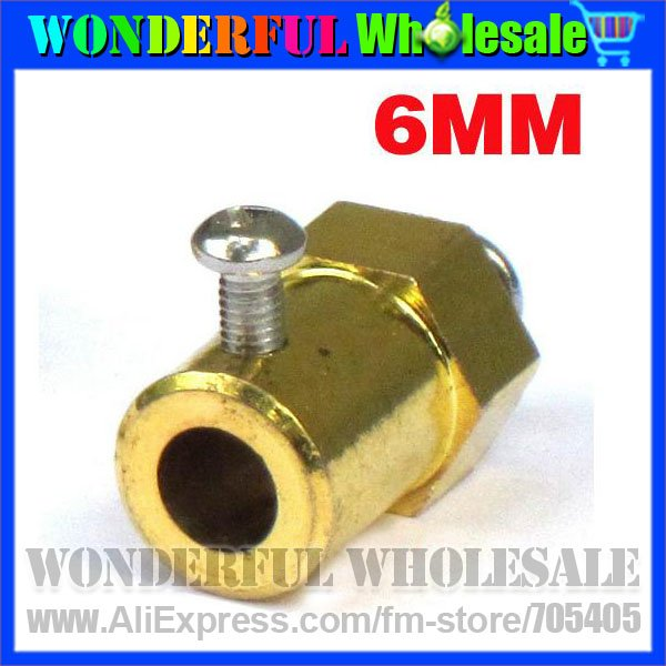 6MM Hex coupling specifications complete,gift of screws(DIY Toys,DIY Robot Parts&Accessories)(China (Mainland))