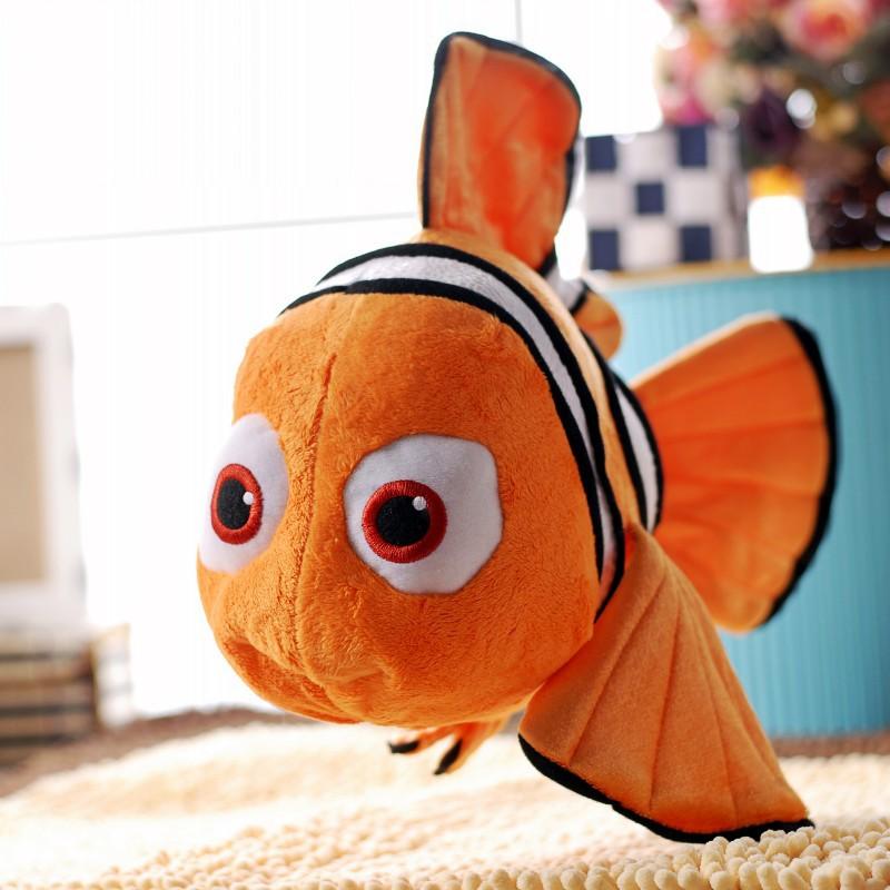 """Finding Nemo 1pcs 9"""" Movie Cute Clown Fish Stuffed Animal Soft Plush Toy Plush Doll(China (Mainland))"""