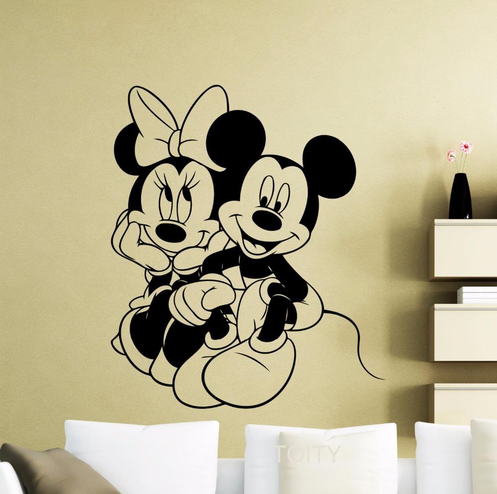 Affiches mickey souris promotion achetez des affiches mickey souris promotion - Affiches decoration interieure ...