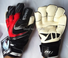 Free shipping Thickened Reusch 's top goalkeeper gloves football lungmoon goalkeeper gloves soccer gloves- LATEX palm(China (Mainland))
