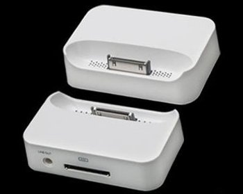 USB Dock Cradle Charger for cellphone touch White