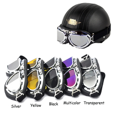 Goggle Snow Ski Goggles Snow Goggles Glasses Foldable Cool Snowboard Motorcycle Goggles Off-Road Mountain Colored Lens Glasses(China (Mainland))