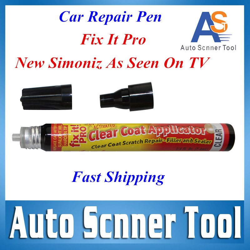 10pcs/lot Wholesale-Best Price Car Scratch Repair Pen for Simoniz Painting Pen Free Shipping(China (Mainland))
